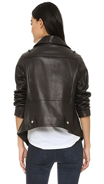 Acne Studios Swift Leather Jacket