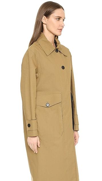 Acne Studios Vallina Mac Trench Coat