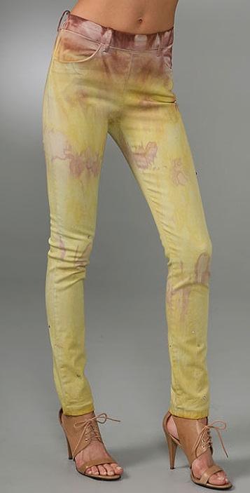 Acne Skin Tie Dye Jeans