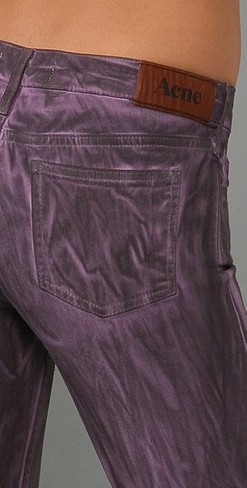 Acne Kex Crystal Skinny Jeans