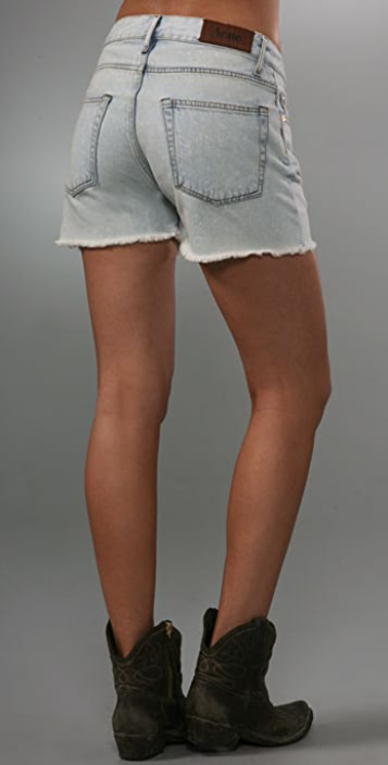 Acne Generic Girl Denim Shorts