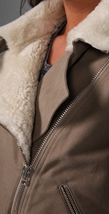 Acne Veba Moto Jacket