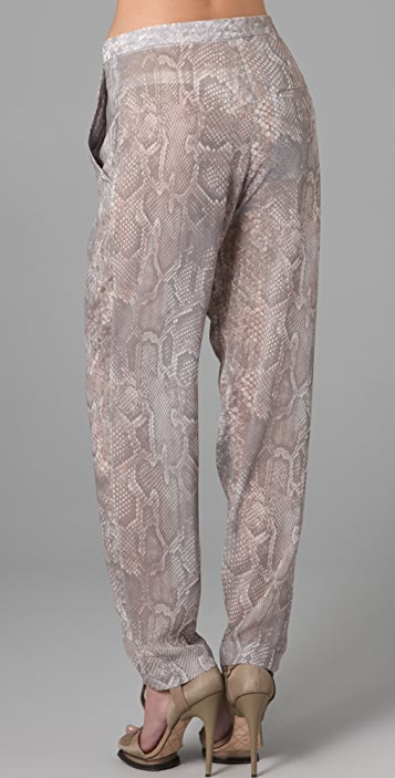 Acne Contact Snake Pants