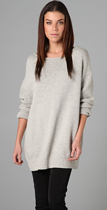 Acne Shore Wide Neck Sweater