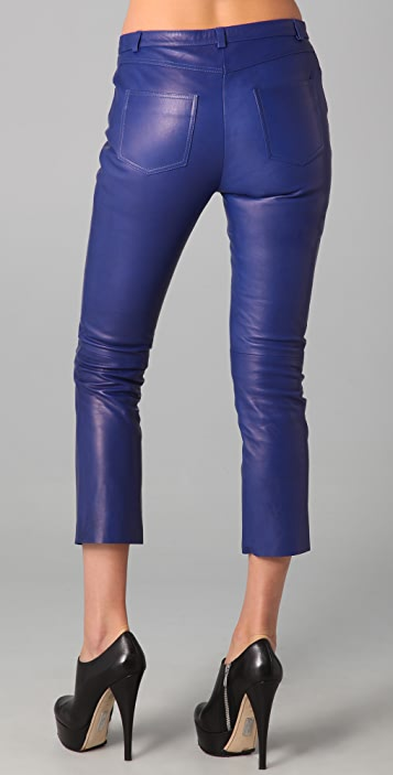 Acne Stone Leather Pants