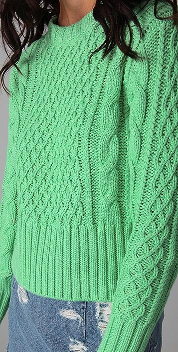 Acne Lia Cable Sweater