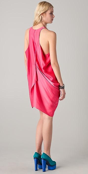 Acne Magenta Dress