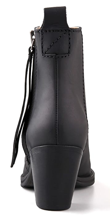 Acne Pistol Short Booties