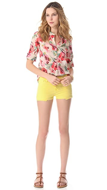 Acquaverde Alexa Cutoff Denim Shorts