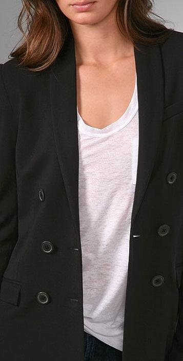 ADAM Double Breasted Blazer