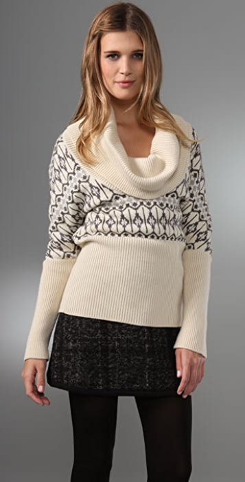 ADAM Cowl Neck Sweater