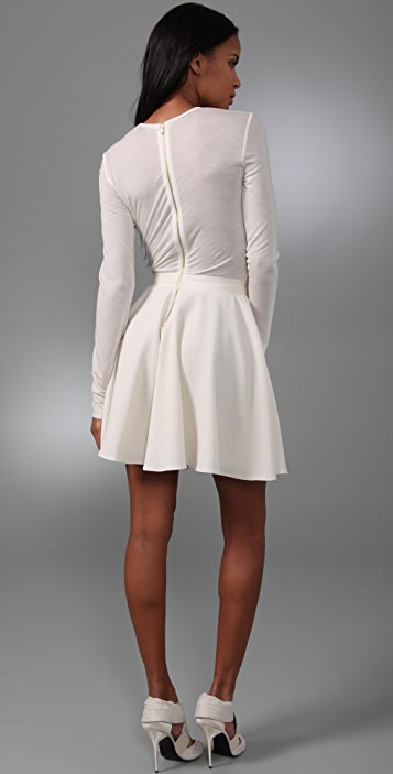 ADAM T-Shirt Dress with Circle Skirt