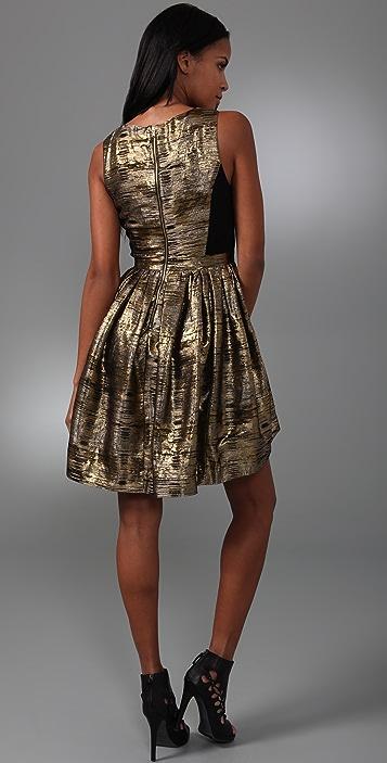 ADAM Scoop Neck Party Dress
