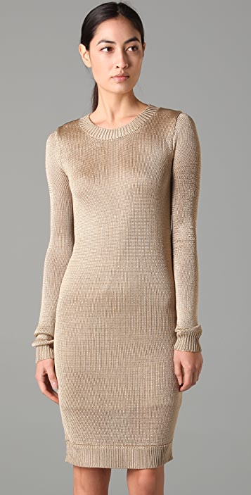 ADAM Crew Neck Sweater Dress
