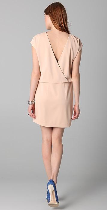 ADAM Sheath Dress with Open Back