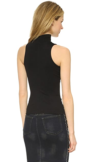AD Turtleneck Ponte Top