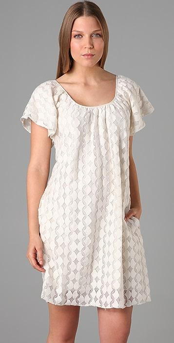 ADDISON Circle Lace Dress