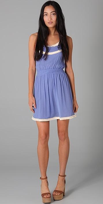 ADDISON Smocked Dress
