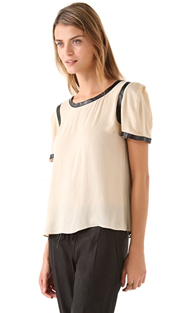 ADDISON Back Inset Top