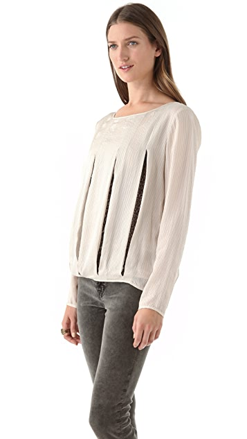 ADDISON Slit Panel Top