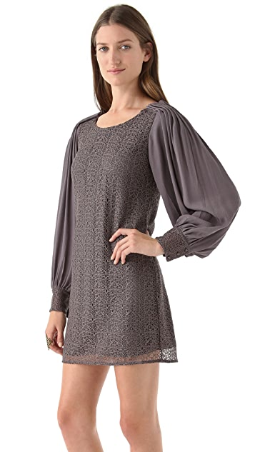 ADDISON Poet Sleeve Dress