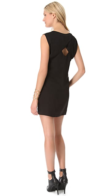 ADDISON Peek-a-Boo Shift Dress