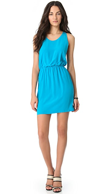 ADDISON Contrast Back Dress