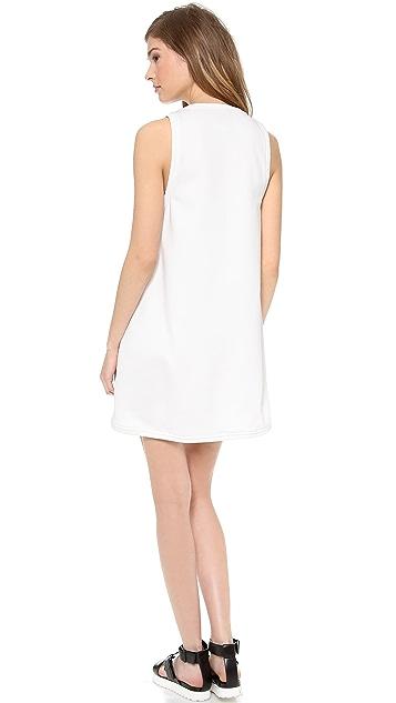 ADDISON Roxy Oversized Pocket Swing Dress
