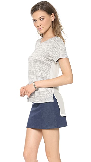 ADDISON Bly Racer Back Layered Top