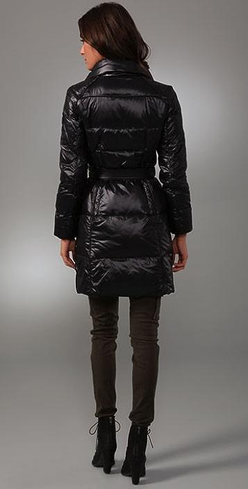 Add Down Shiny Puffy Coat