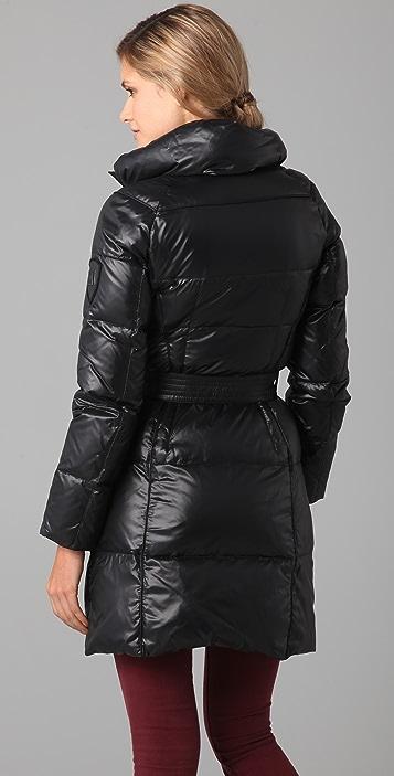 Add Down Shiny Icon Puffer Coat