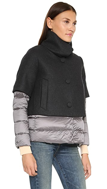Add Down Wool Down Jacket