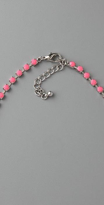 Adia Kibur Neon Stone Necklace