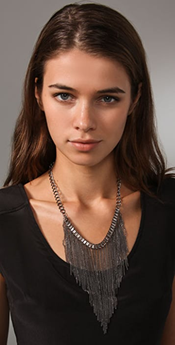 Adia Kibur Graduated Chain Necklace