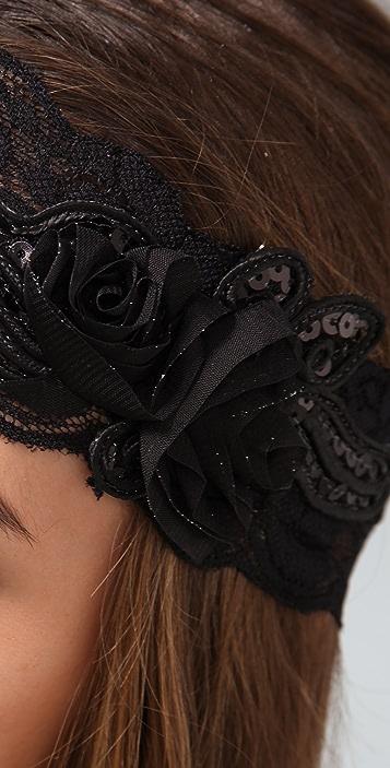 Adia Kibur Black Headband