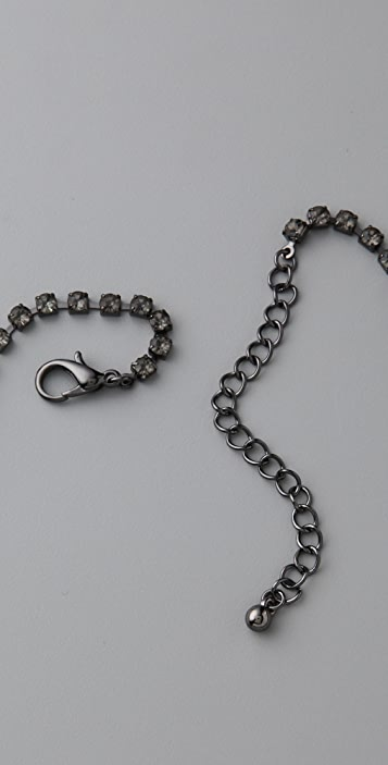 Adia Kibur Mixed Chain & Stone Necklace