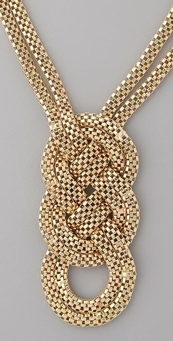 Adia Kibur Jumbo Pretzel Necklace