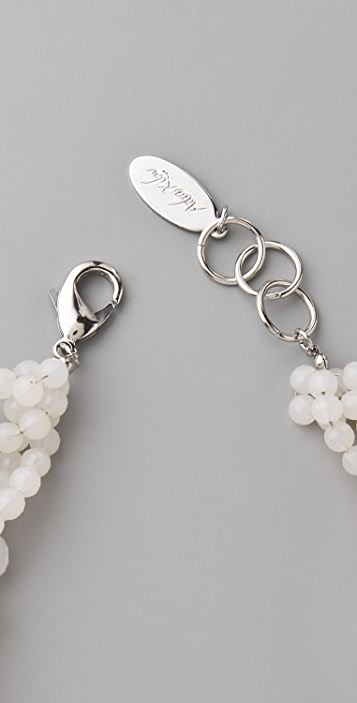 Adia Kibur Beaded Twist Necklace