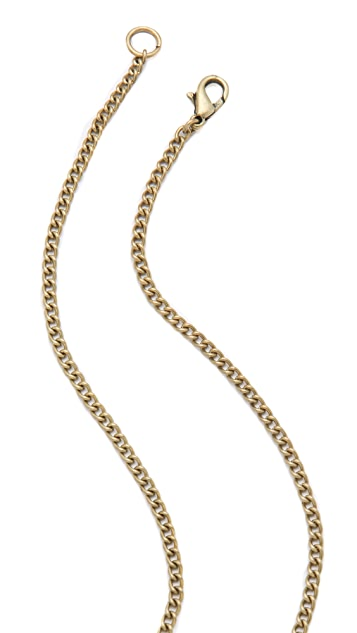 Adia Kibur Knot Pendant Necklace