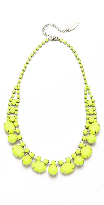Adia Kibur Short Neon Stone Necklace