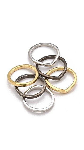 Adia Kibur Mixed Ring Set