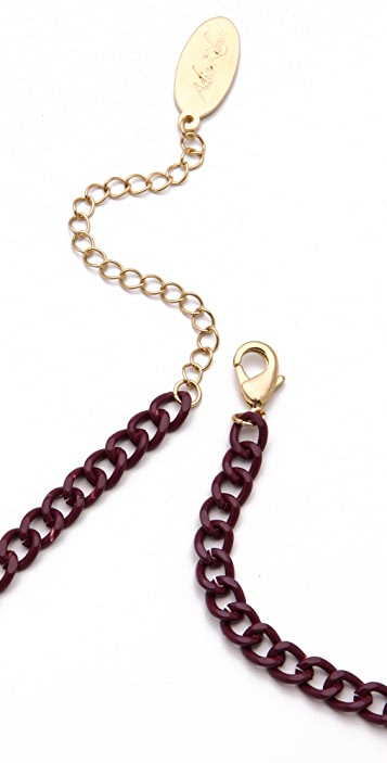 Adia Kibur Chain Link Multi Necklace