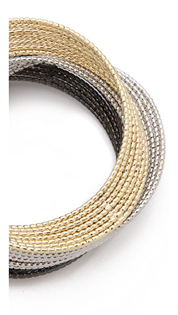 Adia Kibur Multi Bangle Set