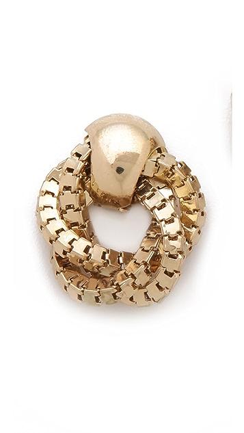 Adia Kibur Door Knocker Earrings