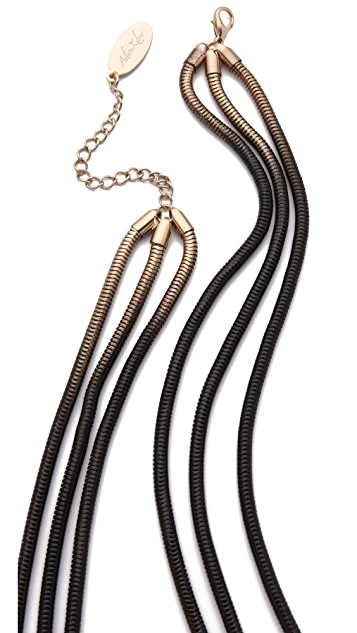 Adia Kibur Layered Ombre Chain Necklace