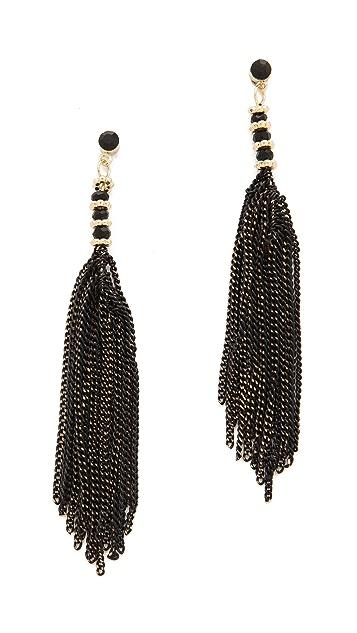 Adia Kibur Chain Dangle Earrings