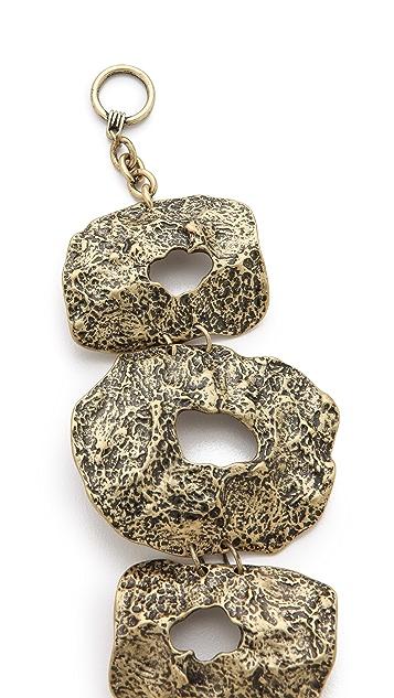 Adia Kibur Hammered Link Bracelet