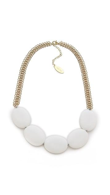 Adia Kibur Marble Stone Necklace