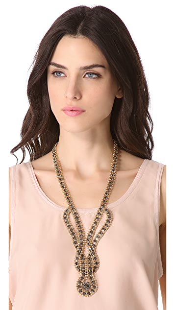 Adia Kibur Loop in Loop Necklace