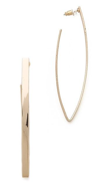 Adia Kibur Pointed Earrings